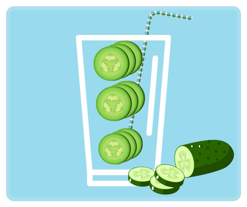 Przepis na wodę z ogórkiem zielonym
