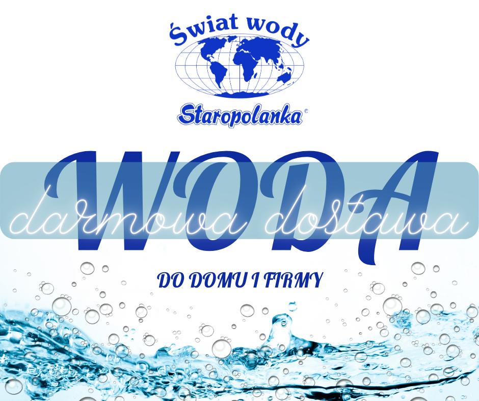 Woda z darmową dostawą do firmy i domu na terenie Rybnika i okolic